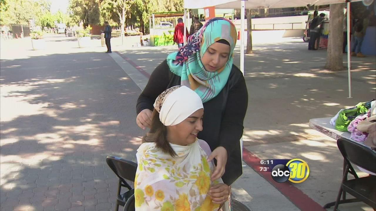 Social experiment at Fresno State offers students insight into how Muslim classmates are seen by others