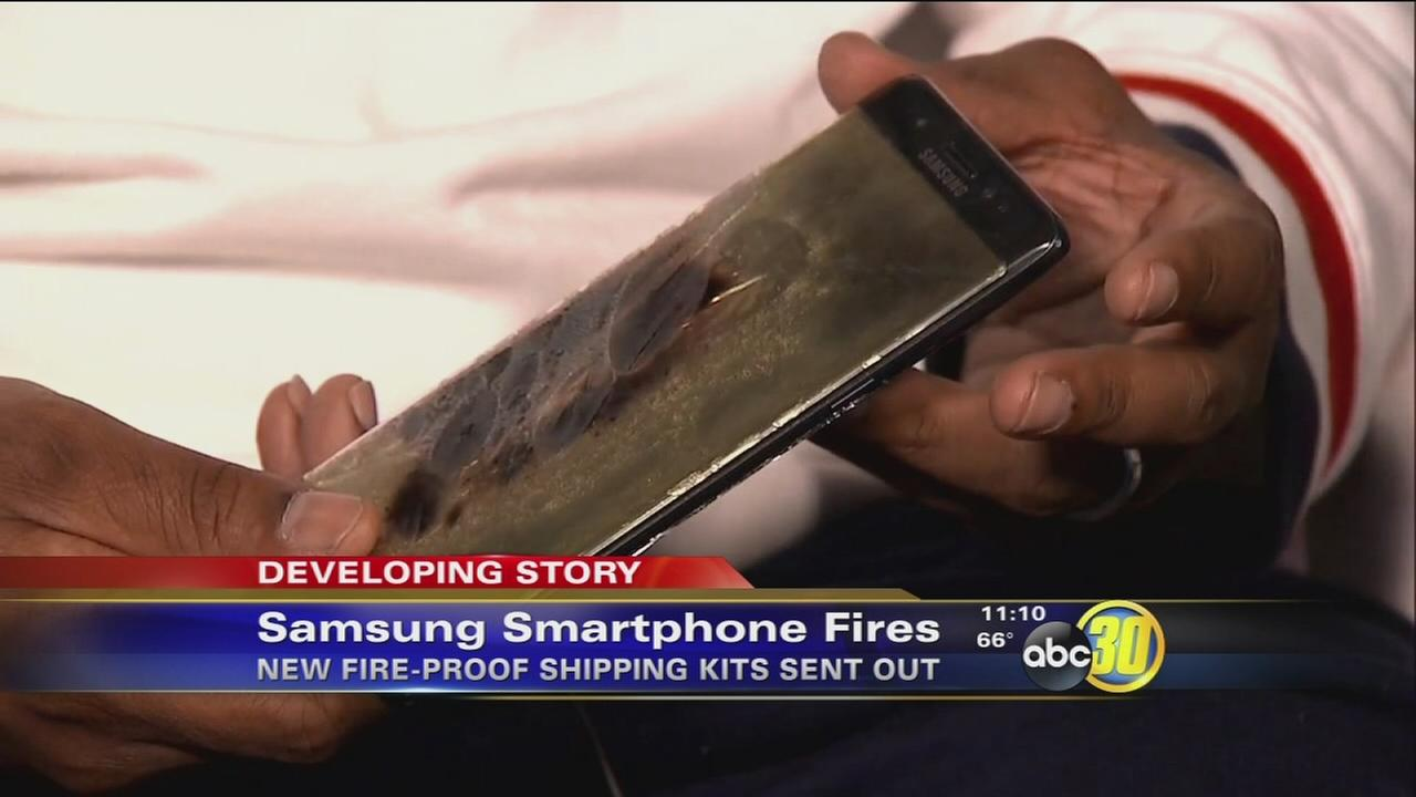 Samsung send fire-proof kits for Note 7 returns