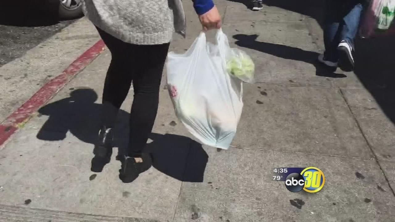Voters deciding whether to ban plastic bags and plastic bag industry says it wont go down without a fight