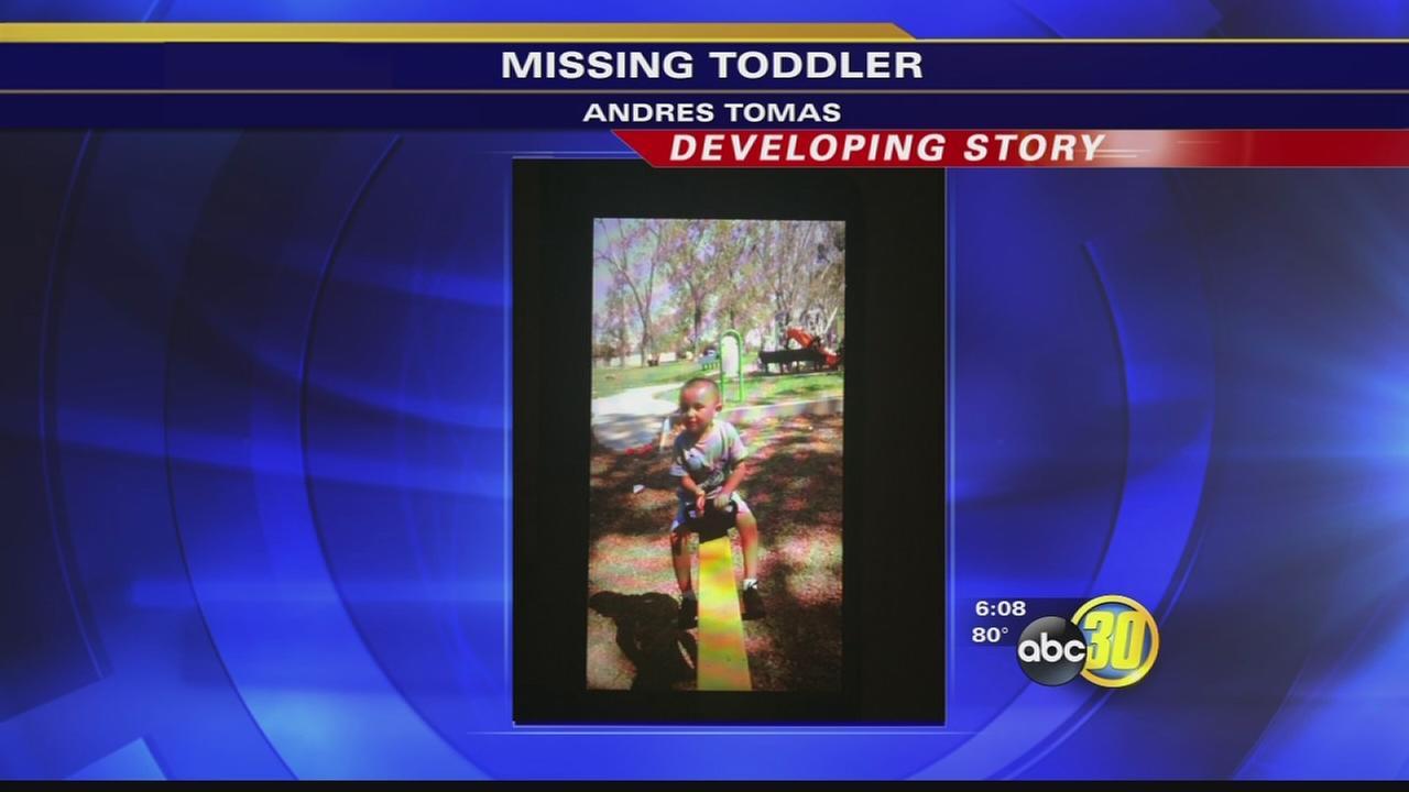 missing toddler