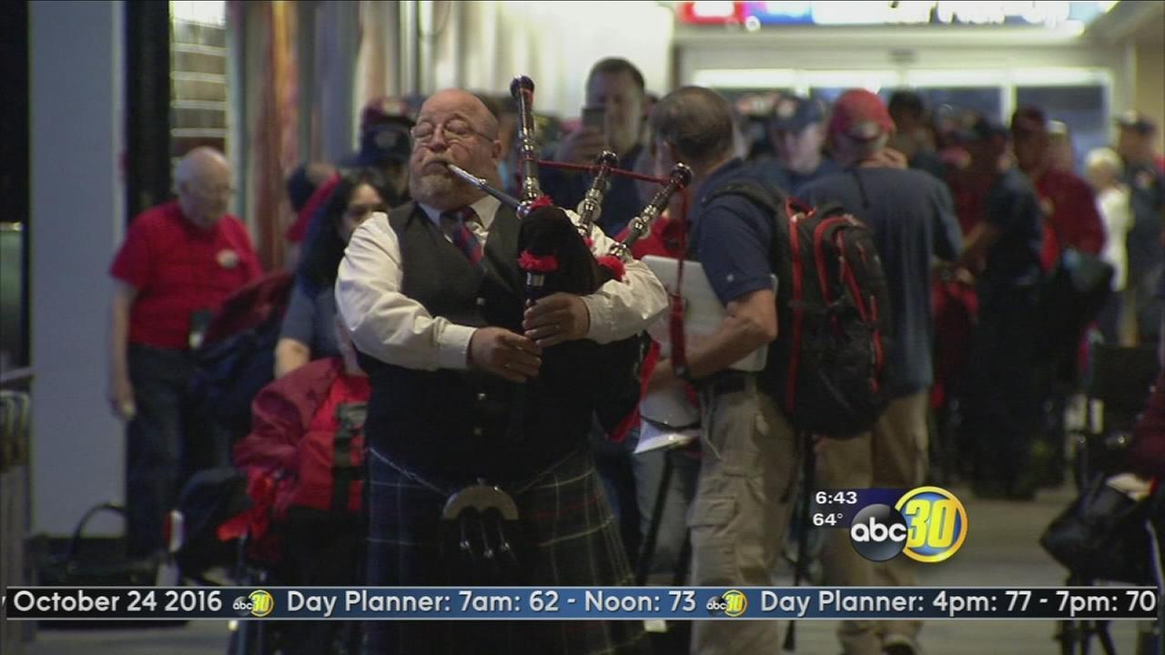 12th Central Valley Honor Flight prepares for takeoff