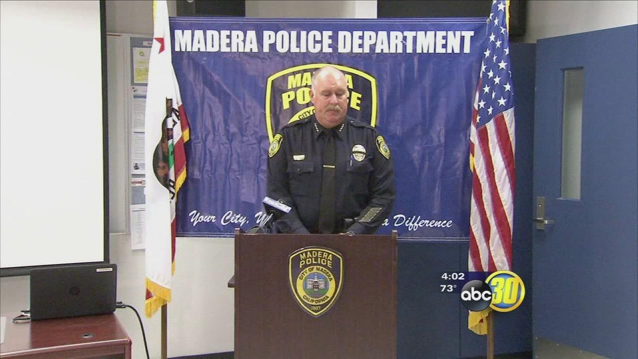 Madera Police chief angry suspects opened fire on officers