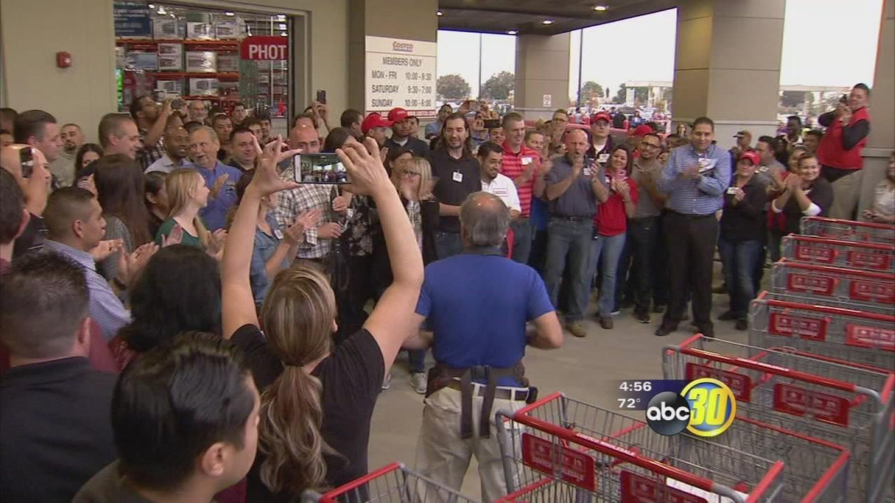 Hanford Costco celebrates grand opening