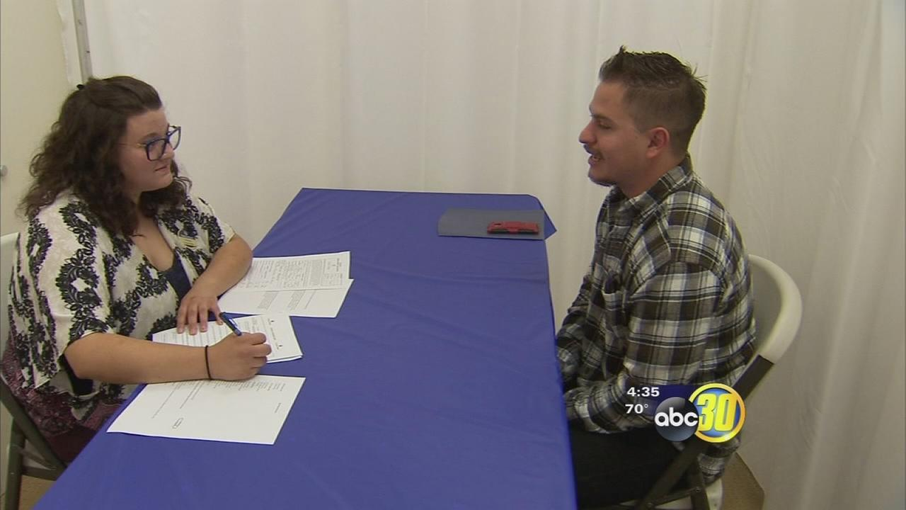 Employees kicked off China Peaks annual job fair