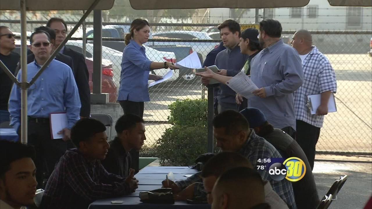 Local dairy processor holds job fair