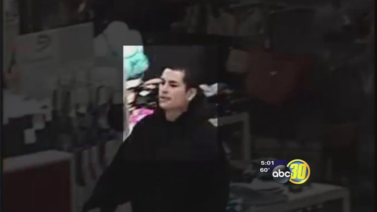 Fresno Police trying to track down man who turned shoplifting into a robbery this week