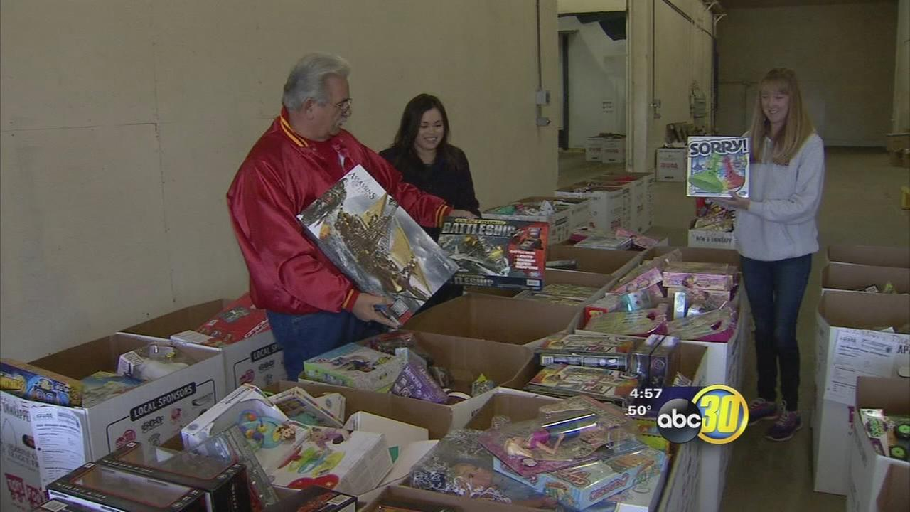 Toys for Tots marathon weekend kicks off this weekend at River Park