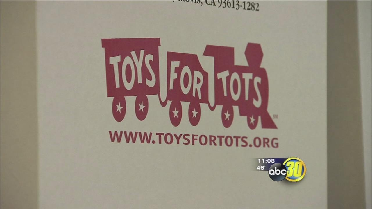 The Toys for Tots Marathon Weekend is now underway