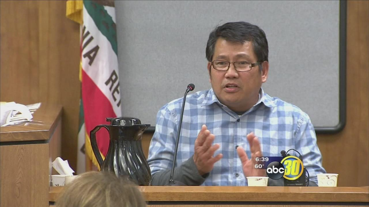 Former Fresno Unified janitor accused of touching students defends actions