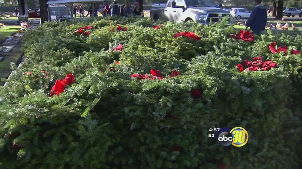 Organization that collects wreaths to honor fallen heroes comes up short