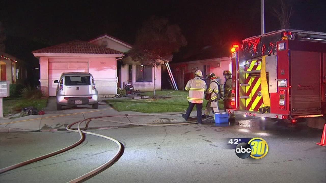 Fresno firefighters say theyre getting overrun with fire calls as the weather gets colder
