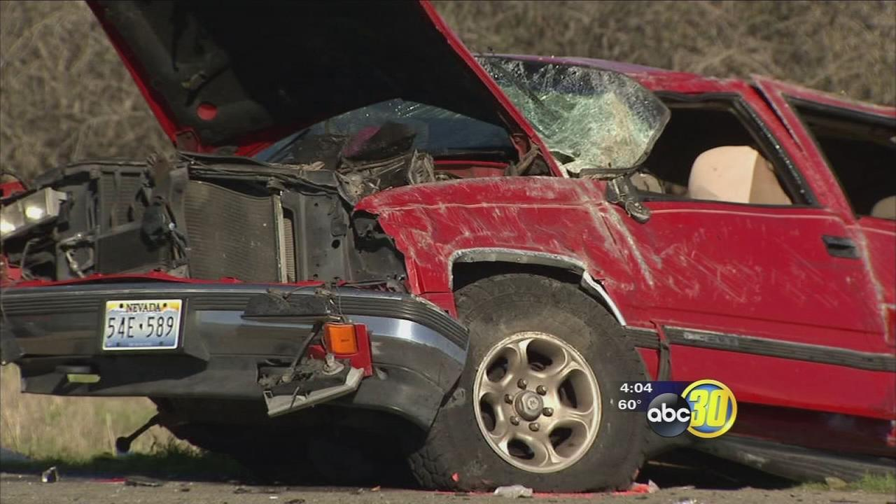 Husband speaks out about crash on I-5 outside of Fresno that killed his wife day after Christmas