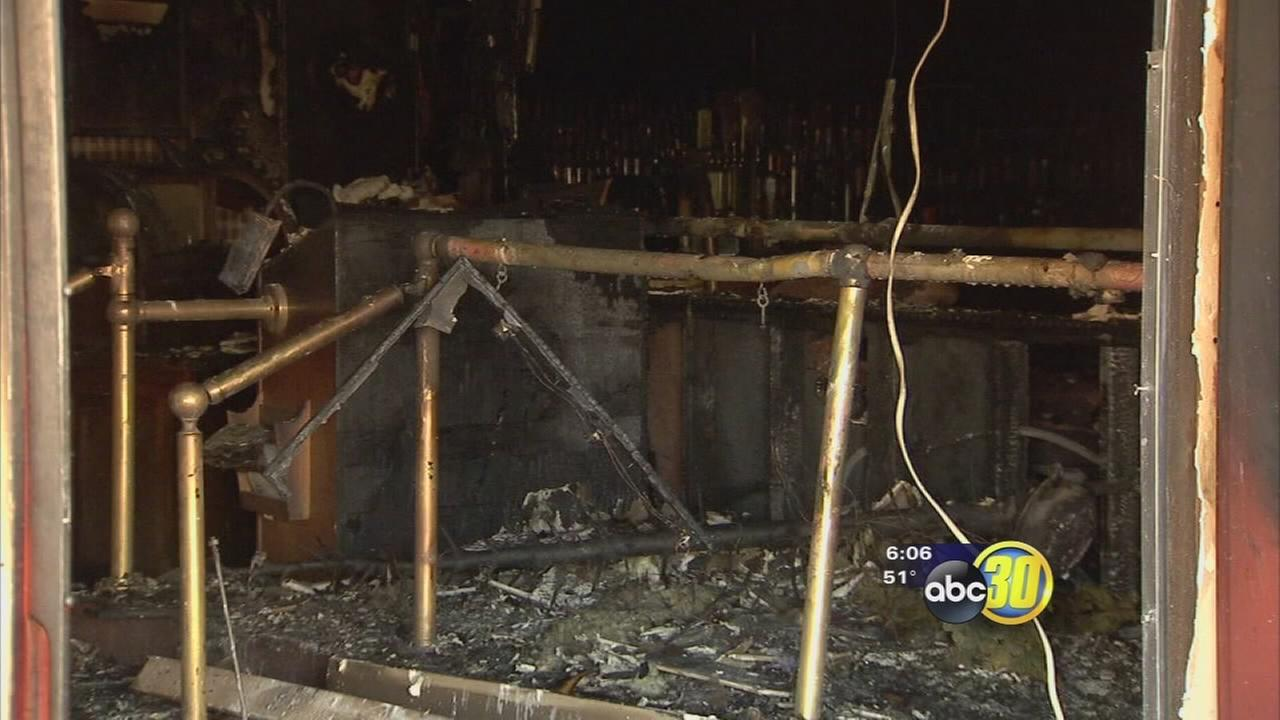 Fire at Tower District restaurant Livingstones determined to be arson