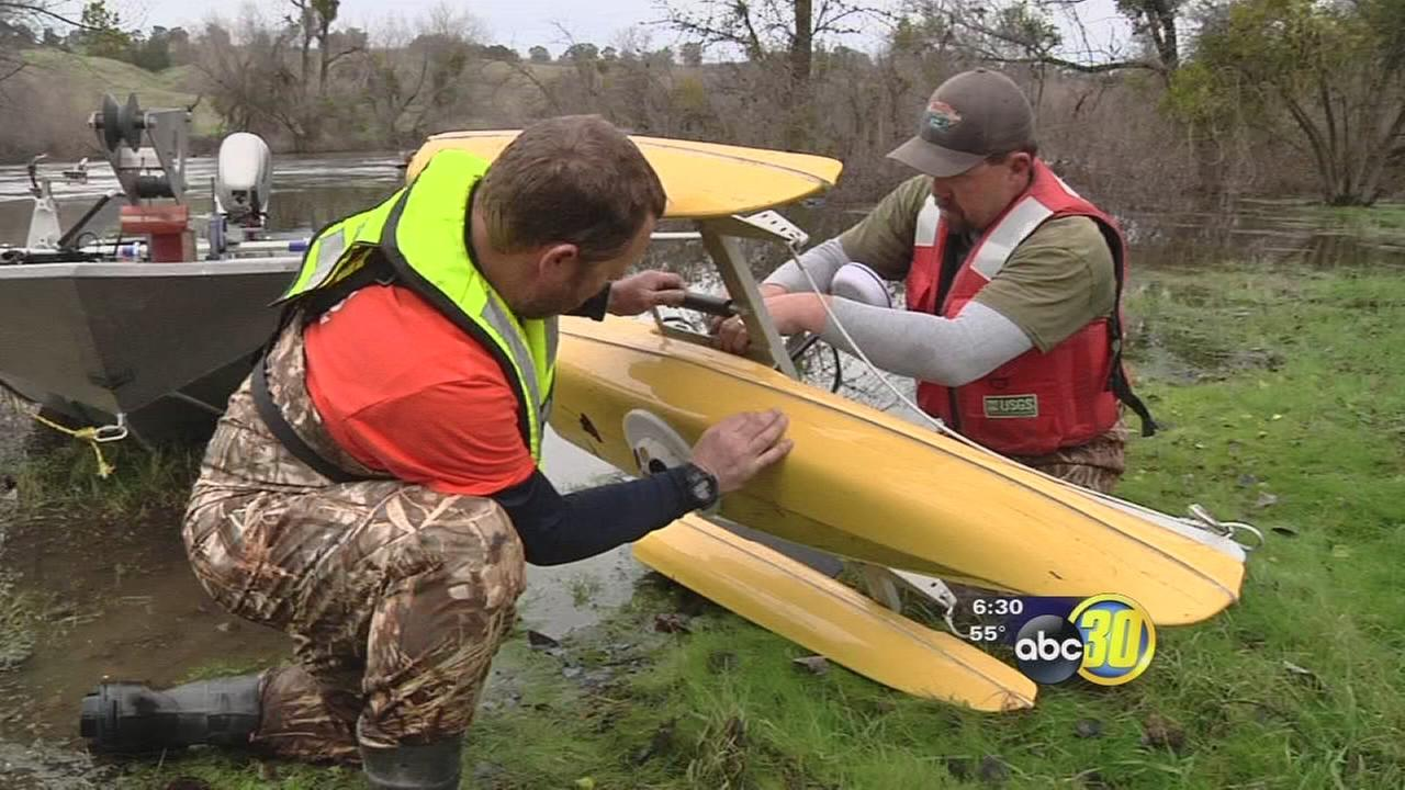 After years of drought, scientists examine recharged San Joaquin River
