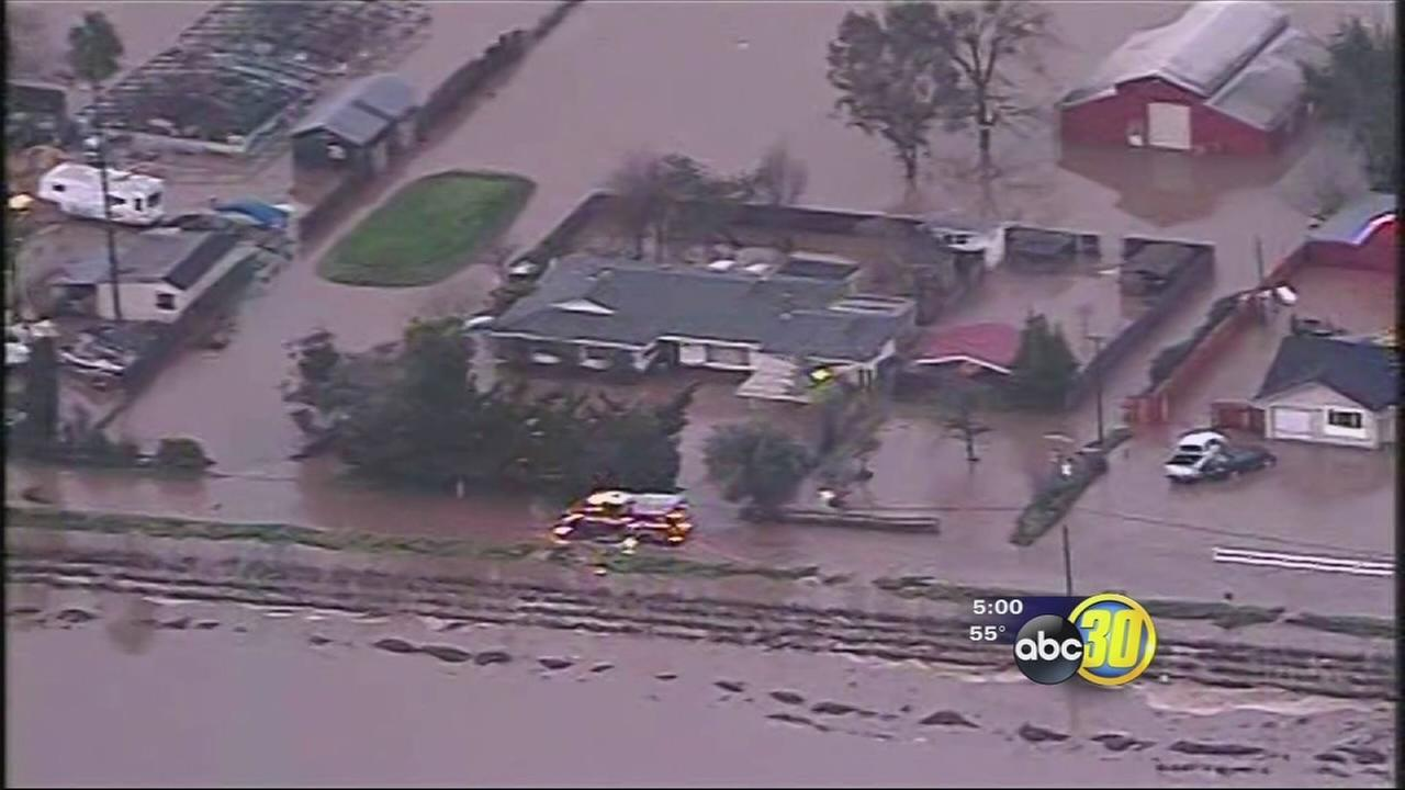 Flooding triggers mandatory evacuations in Hollister