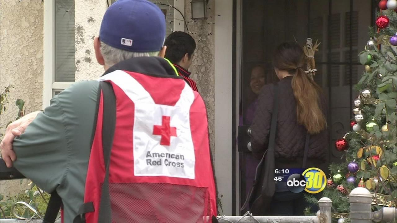 Red Cross volunteers install hundreds of smoke alarms in Fresno homes