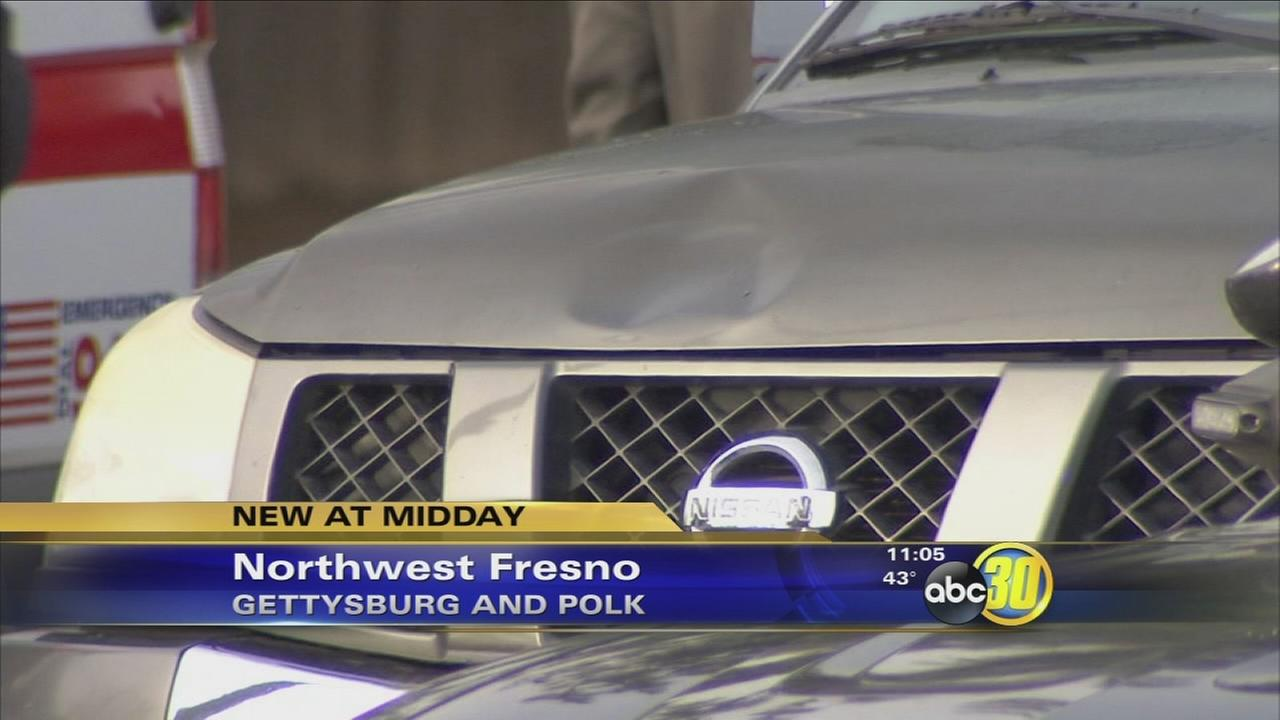 Woman hit by car in Northwest Fresno