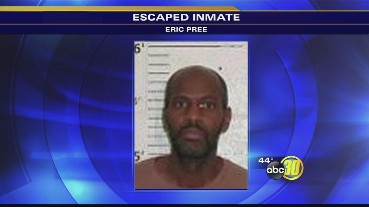 Manhunt underway for escaped Atwater penitentiary inmate