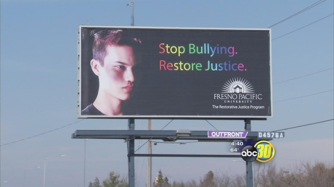 Fresno teen uses personal experience to raise awareness of LGBT bullying  with billboard
