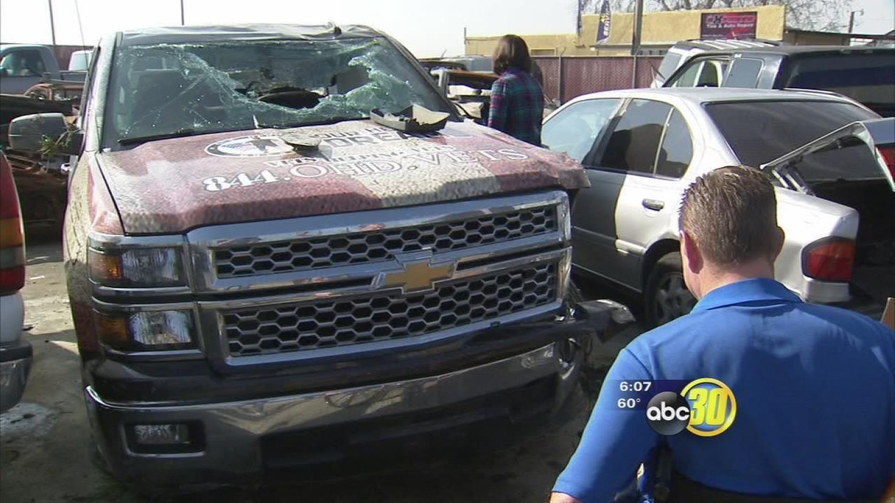Valley veteran who helps other vets in need recovering after accident