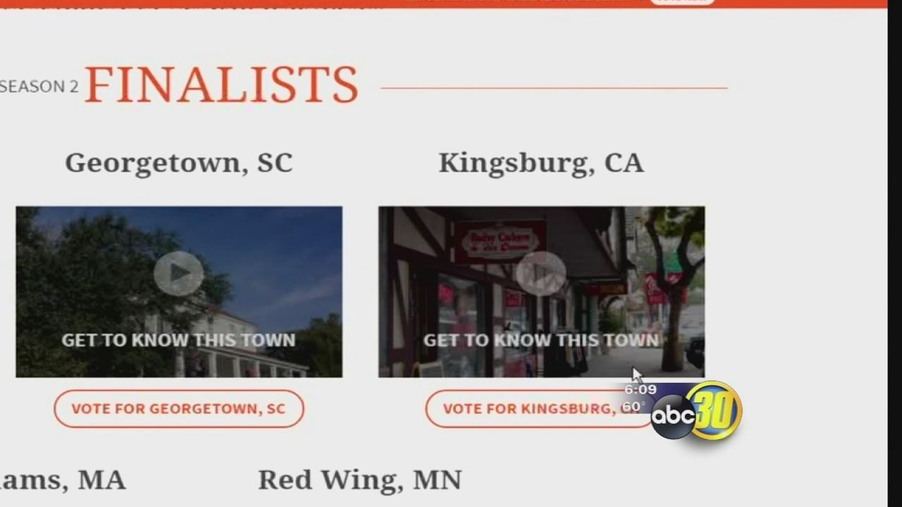 Kingsburg getting national attention after being named one of top 5 finalists for Small Business Revolution
