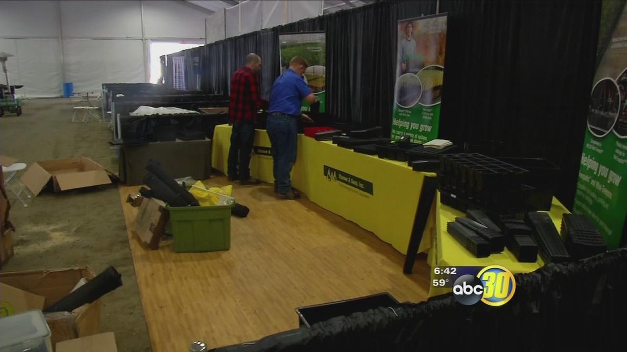 Final preparations underway for 50th World Ag Expo in Tulare