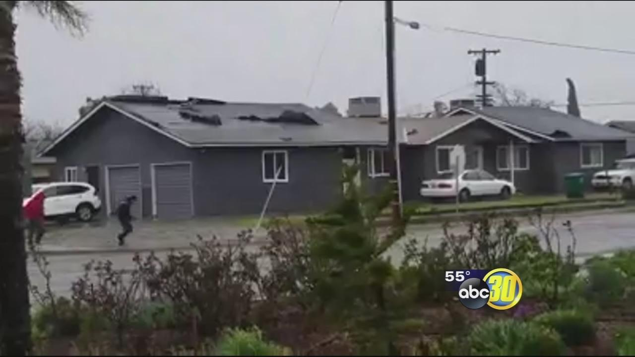 High winds created huge problems for people on the west side of Fresno County