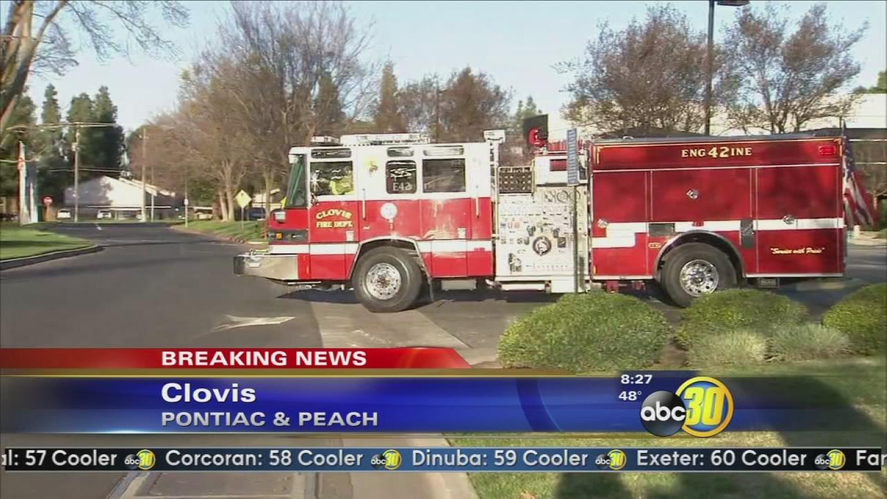 Evacuation lifted in Clovis after a gas leak