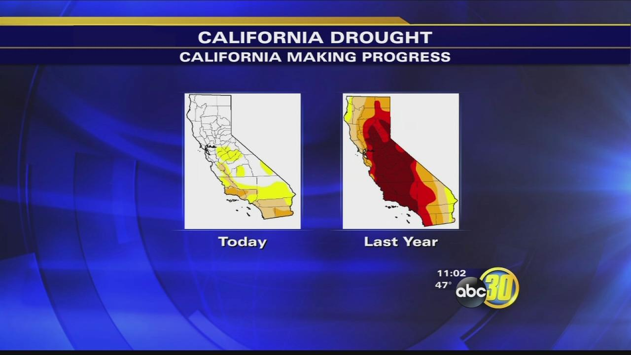 Drought may be coming to an end after series of storms, scientists say