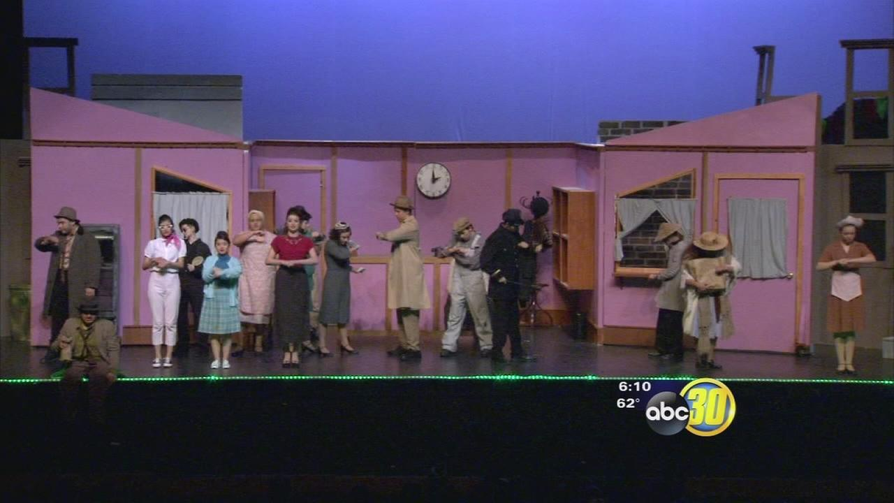 Hundreds special needs students went to Roosevelt School of the Arts to enjoy their first musical