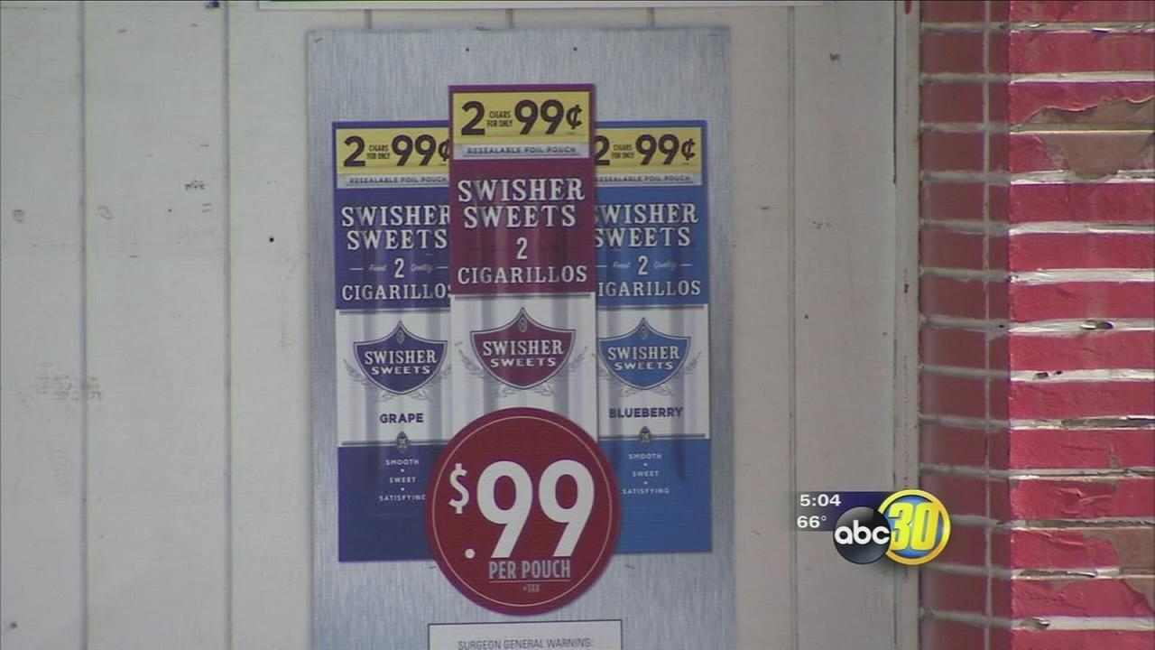 Survey finds flavored tobacco products easier to get than fruits and vegetables in Central California