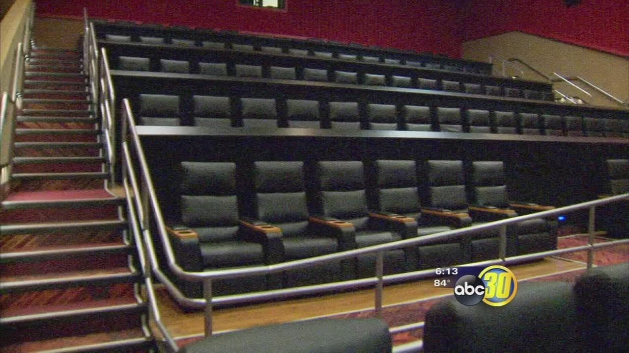 Local movie theater adds reclining chairs to keep patrons comfortable