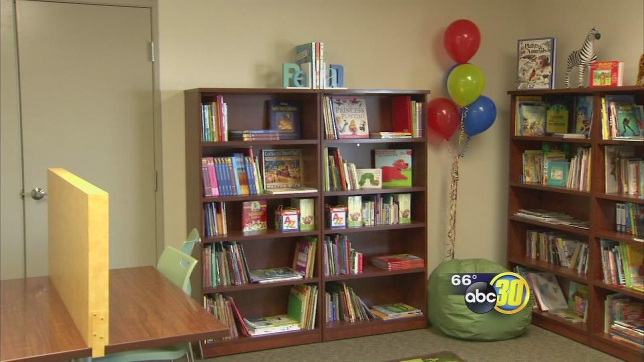 Parents open free library in Southeast Fresno in memory of son who passed away from cancer