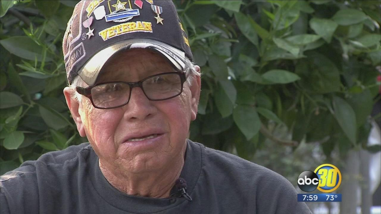 Fresno veteran heartbroken after thief steals bike
