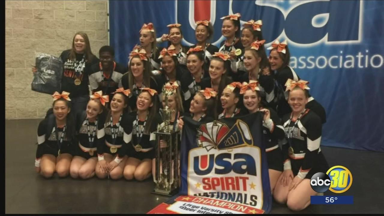 Valley Cheer Squads win National Championships