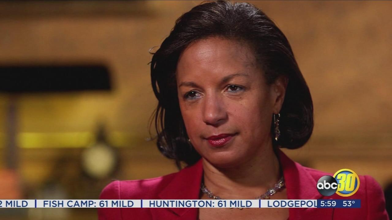 Susan Rice denies using intel to spy on Trump advisers