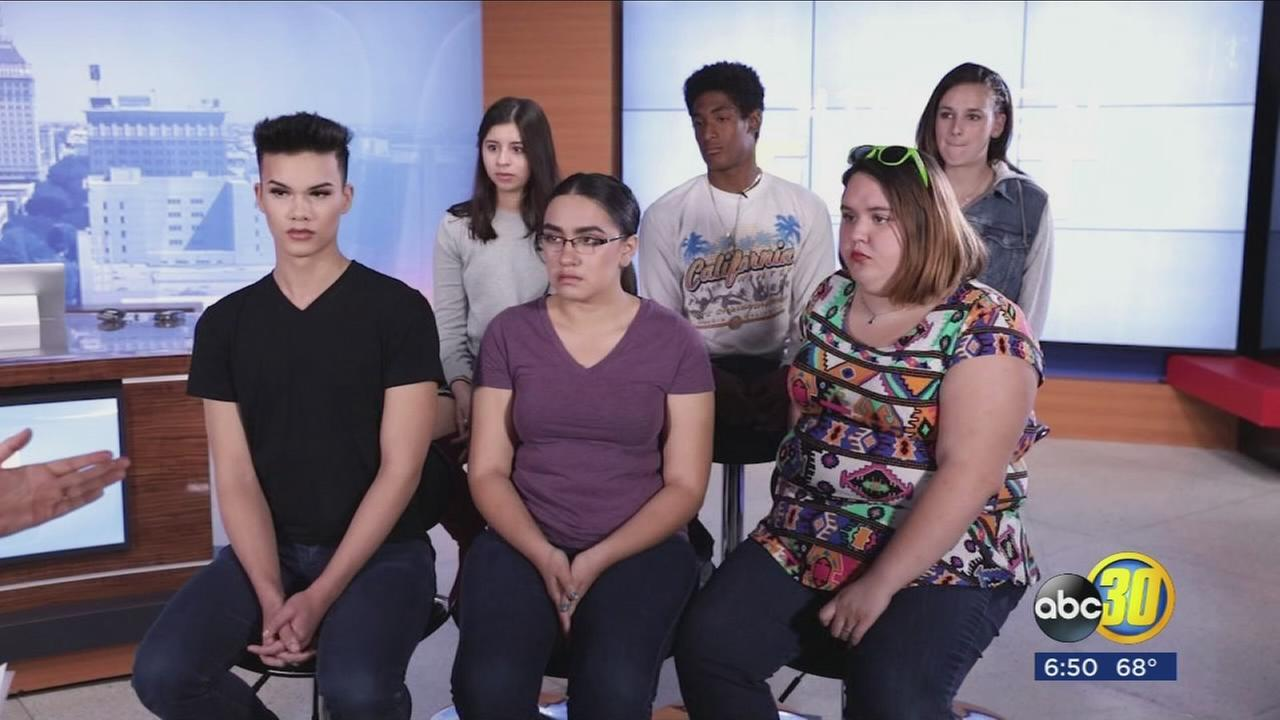 Local students talk candidly about depression, bullying and peer pressure