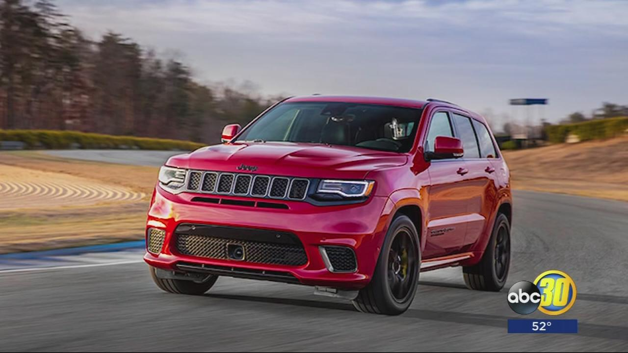 700 horsepower  Jeep Grand Cherokee Trackhawk to be unveiled in New York