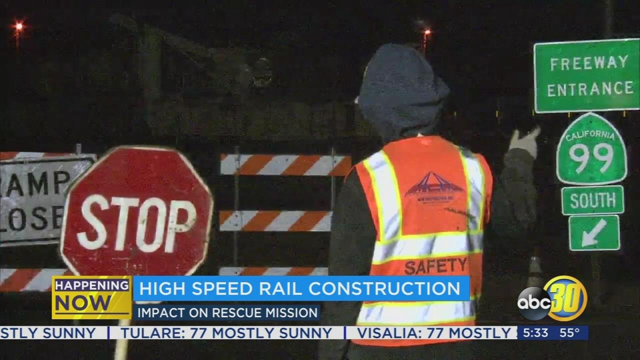 Highway 99 back open at Clinton Avenue after second night of closures