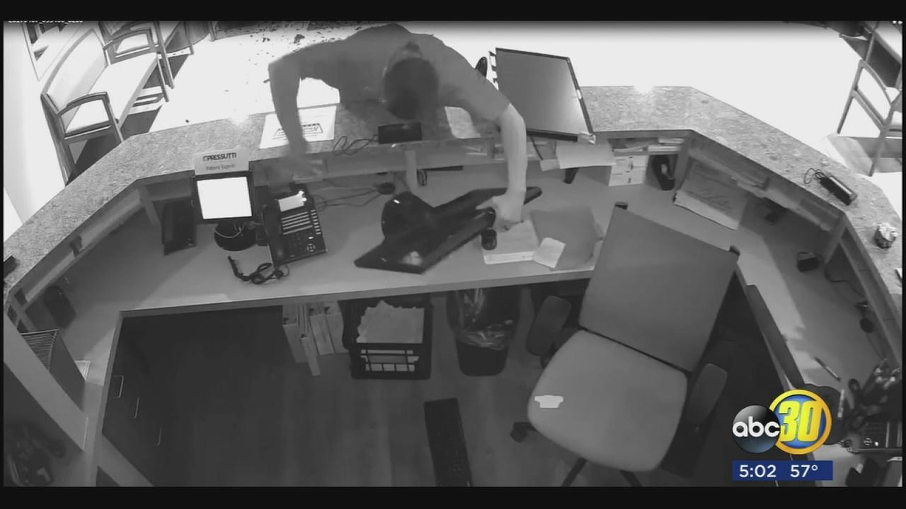 Two thieves who steal from dental office in Northeast Fresno