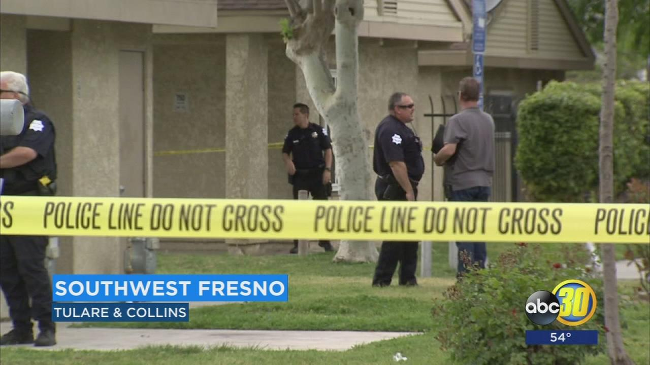 Shooting in Southwest Fresno turned into possible hazmat situation after gas meter struck