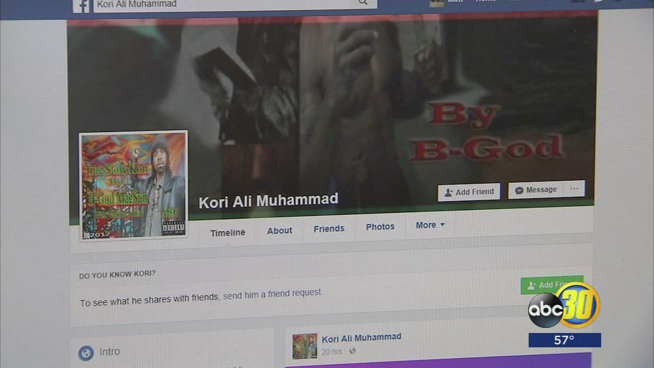 Suspected Fresno Downtown shooter posted radical beliefs on social media