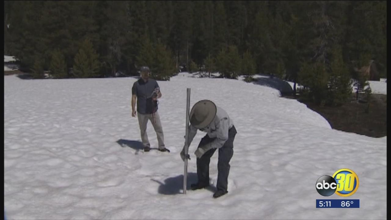 Sierra Nevada snowpack almost double of average, survey says