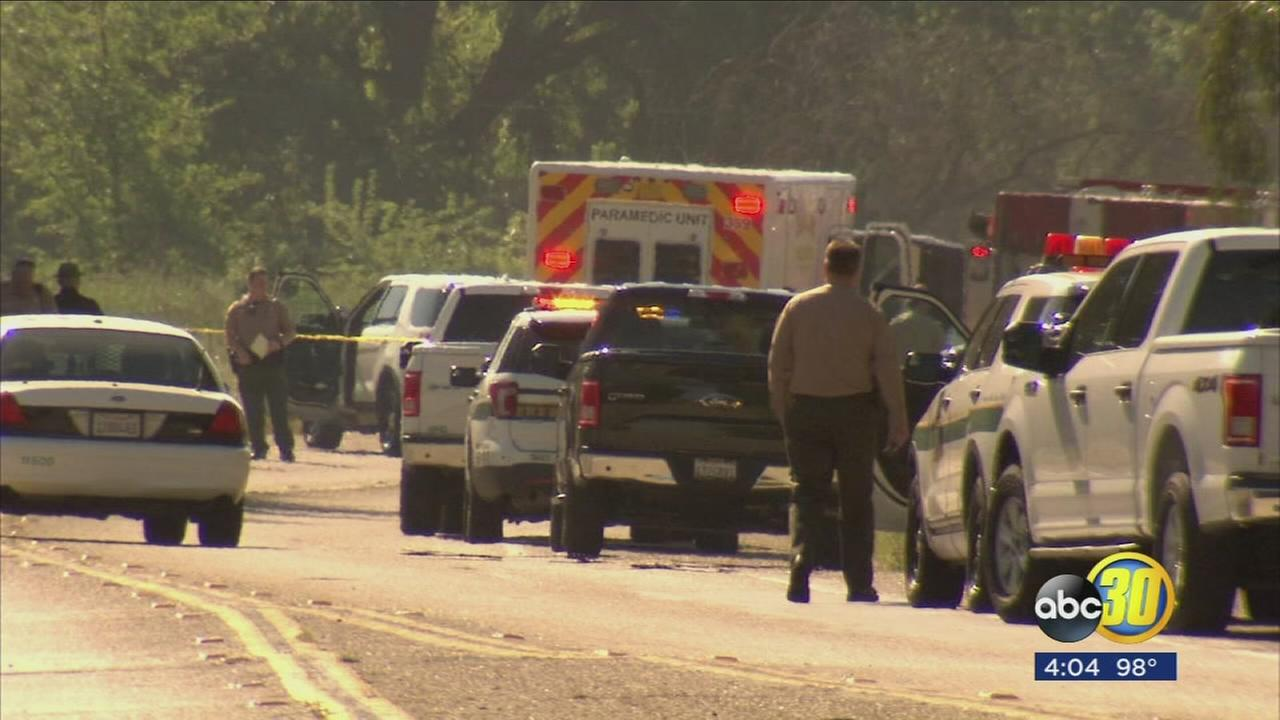 Suspect in critical condition after deputy involved in a shooting near Minkler