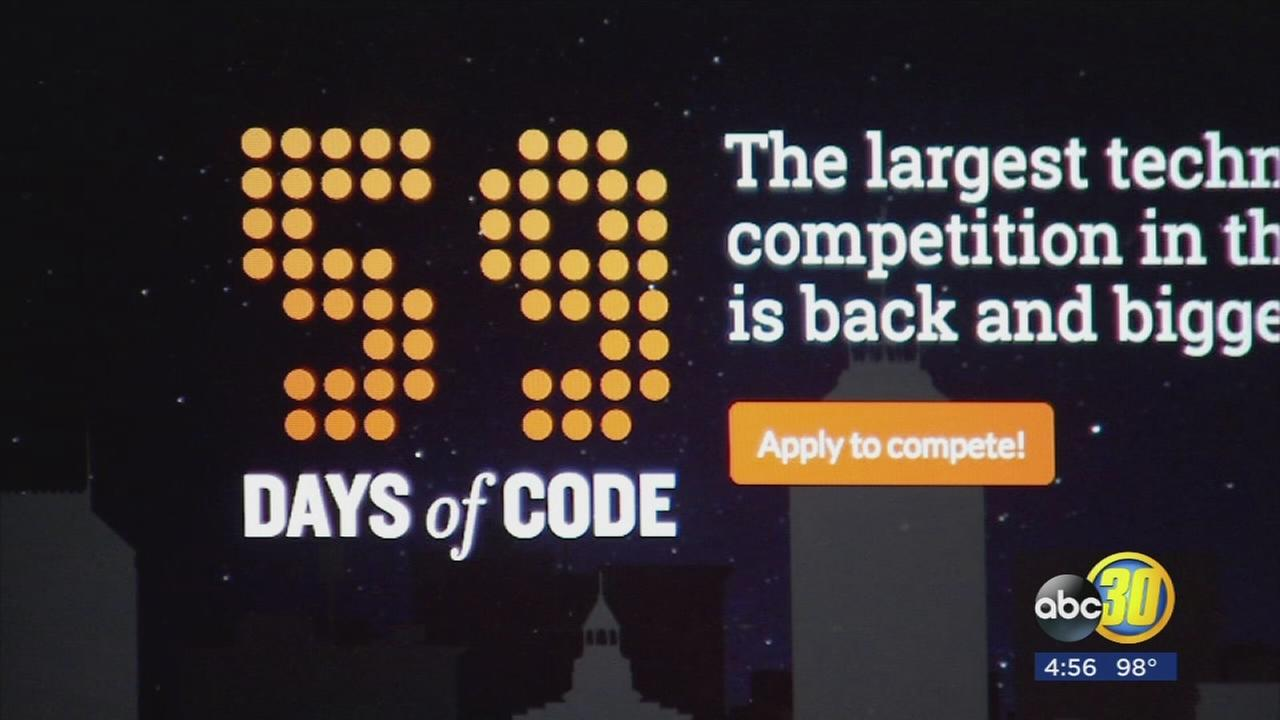 59 Days of Code competition beginning to heat up in Downtown Fresno
