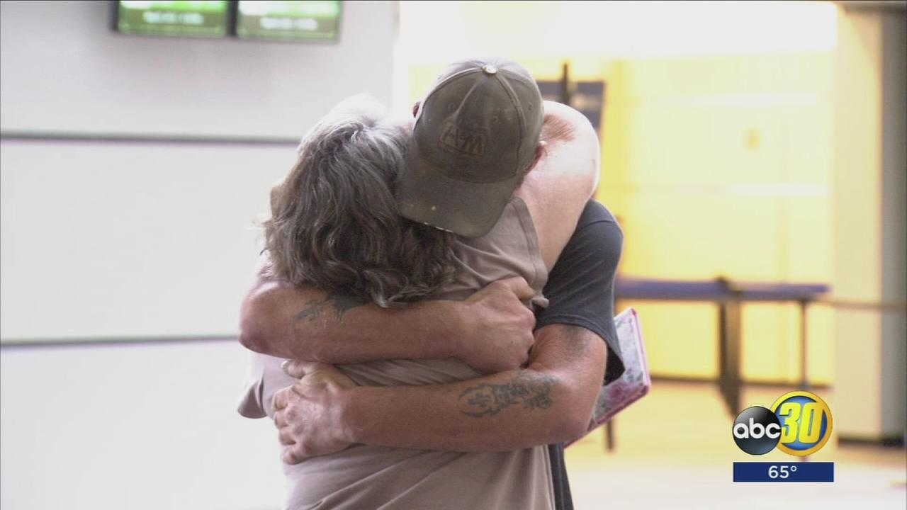 Madera mother and son meet for the first time in 49 years at Fresno airport