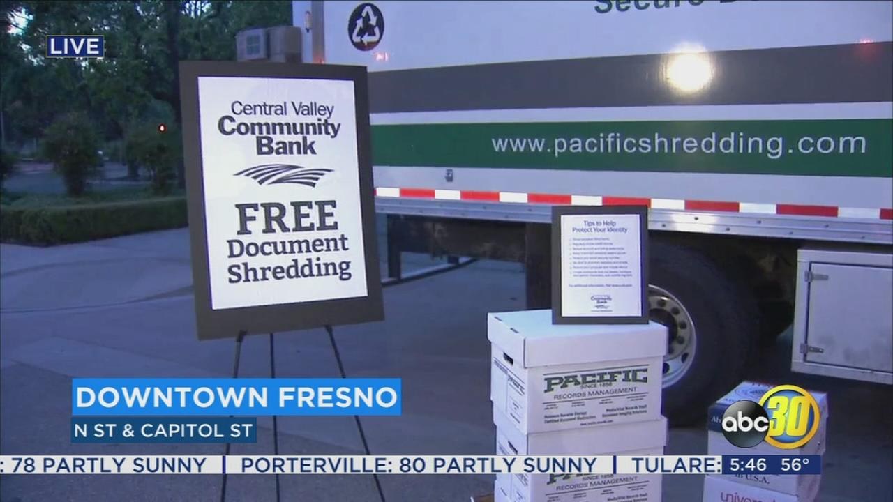 Valley bank offers free shredding event to combat ID theft
