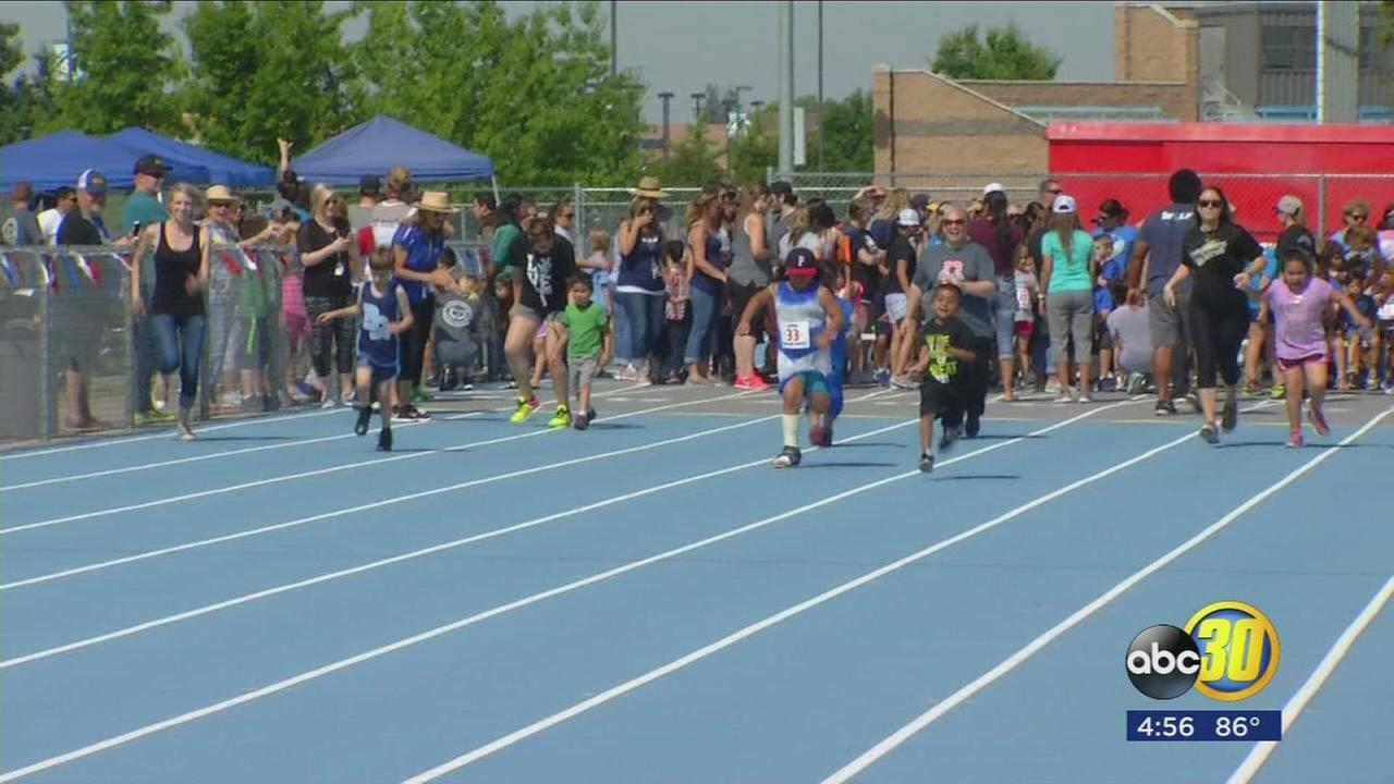 Track and field day held for Clovis Unified special education students