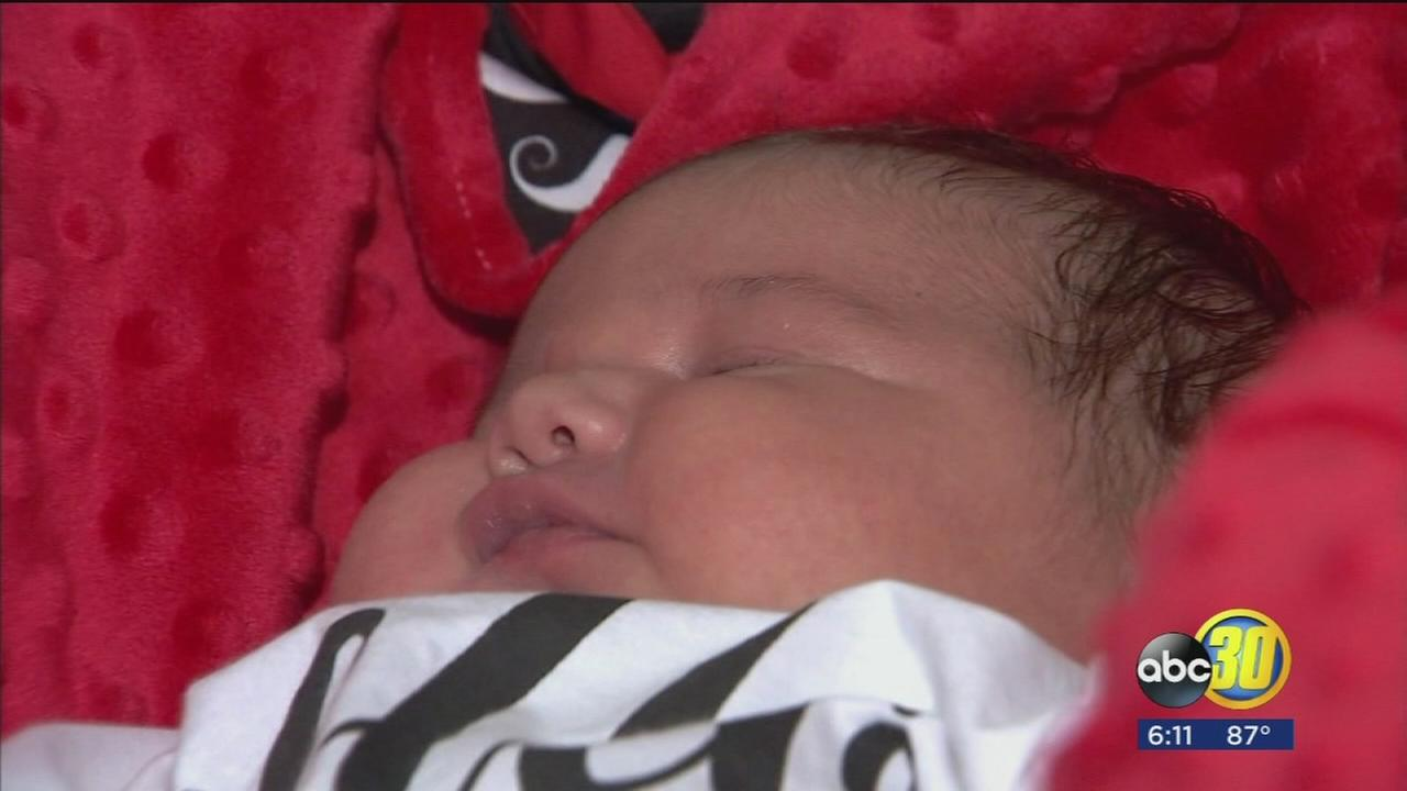 North Valley woman gives birth to baby weighing more than 13 pounds