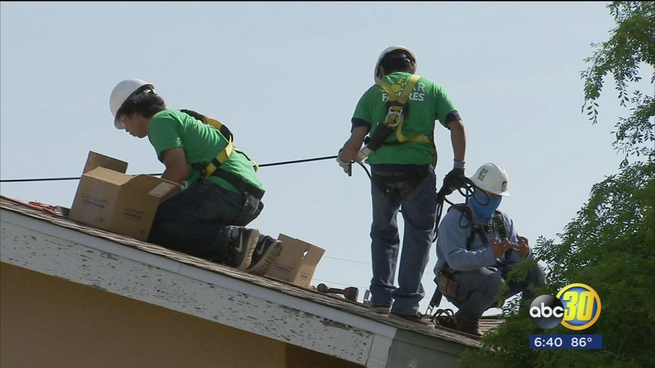 Selma High School students get lesson in renewable energy